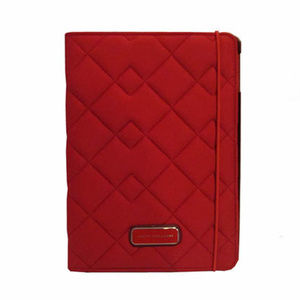 MARC JACOBS Royse Red Neoprene Tablet Book Case